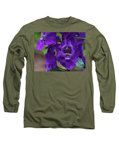 Angelonia Angustifolia Long Sleeve T-Shirt