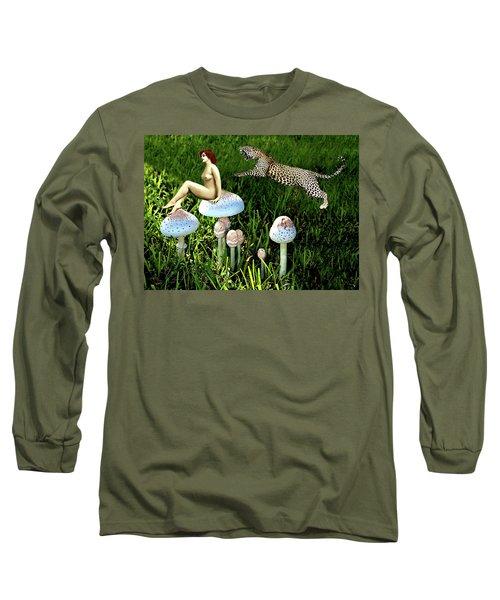 Angoisse Feminine#4 Long Sleeve T-Shirt