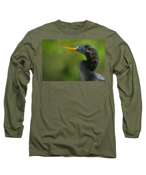 Anhinga Anhinga Anhinga, Tortuguero Long Sleeve T-Shirt by Panoramic Images