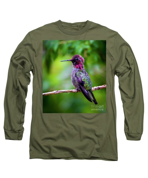 Anna Humming Bird Long Sleeve T-Shirt