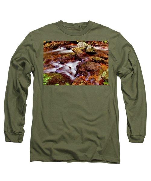 Anna Ruby Falls - Smith Creek 006 Long Sleeve T-Shirt