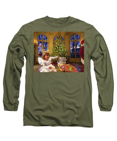 Annalise And Santa Long Sleeve T-Shirt