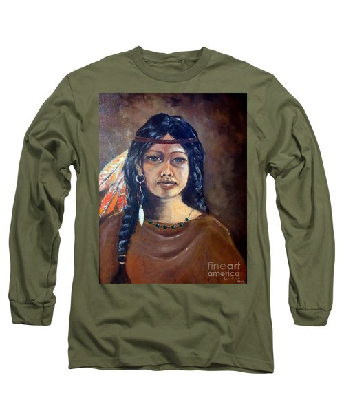 Anne Wolfe Long Sleeve T-Shirt by Lee Piper