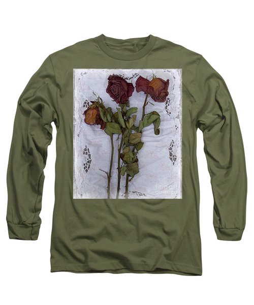 Anniversary Roses Long Sleeve T-Shirt by Alexis Rotella