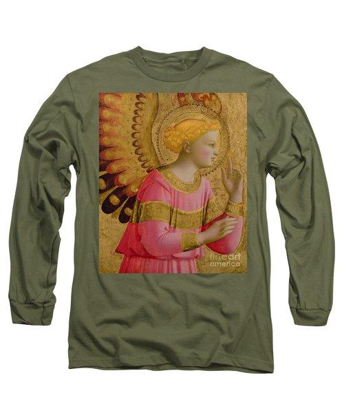 Annunciatory Angel Long Sleeve T-Shirt