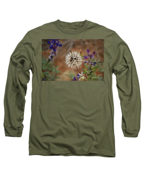 Another White Flower Long Sleeve T-Shirt