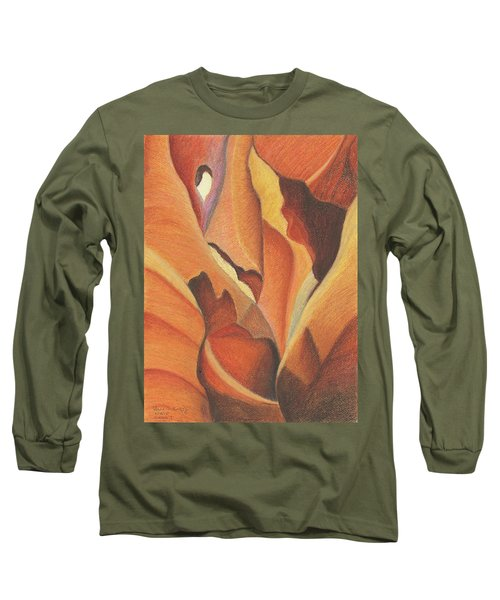 Antelope Canyon 4 - For Gloria Long Sleeve T-Shirt