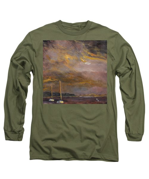 Anticipation Long Sleeve T-Shirt by Michael Helfen