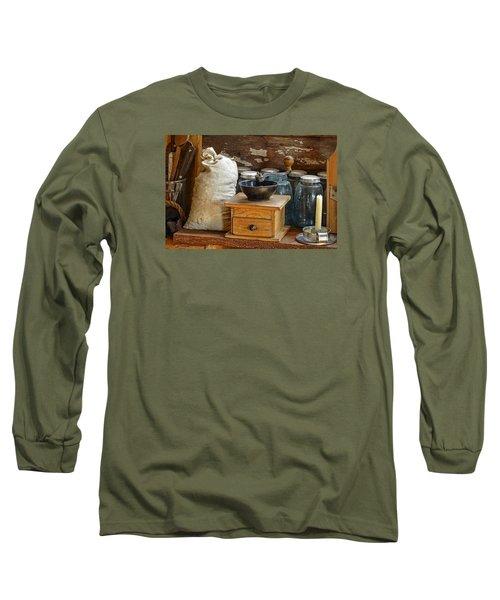 Antique Grinder Long Sleeve T-Shirt