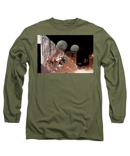 Long Sleeve T-Shirt featuring the photograph Antique Lanterns by Andrew Fare