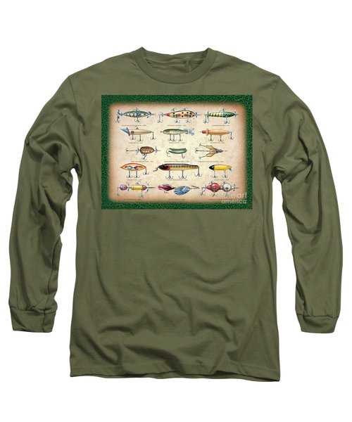 Antique Lures Panel Long Sleeve T-Shirt