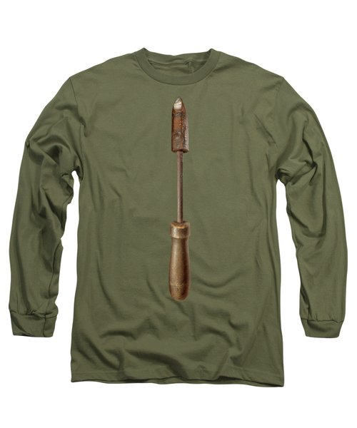 Antique Soldering Iron On Black  Long Sleeve T-Shirt
