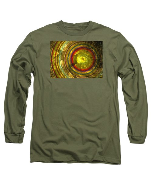 Apollo - Abstract Art Long Sleeve T-Shirt by Sipo Liimatainen