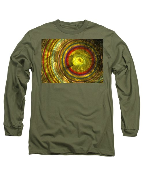 Apollo - Abstract Art Long Sleeve T-Shirt