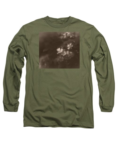 Apple Blossom 1 Long Sleeve T-Shirt by Simone Ochrym
