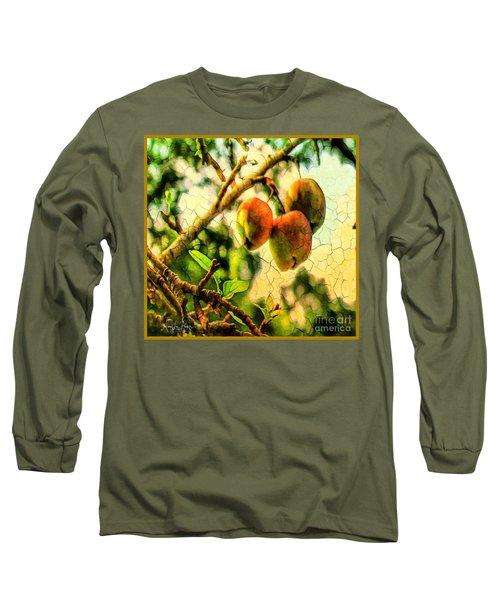 Apple  Season Long Sleeve T-Shirt