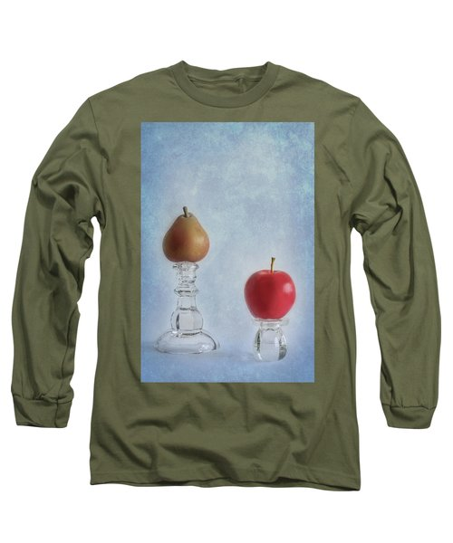 Apples To Pears Long Sleeve T-Shirt