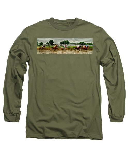 Approaching The Far Turn Long Sleeve T-Shirt