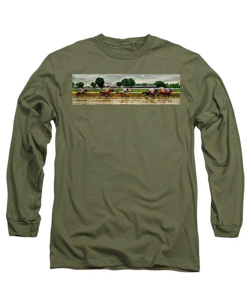 Approaching The Far Turn Long Sleeve T-Shirt