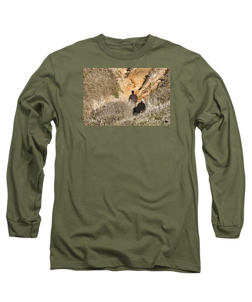 Approaching The Incline Long Sleeve T-Shirt
