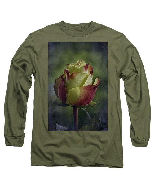 April 2017 Rose - Inspired By Emerson Long Sleeve T-Shirt by Richard Cummings
