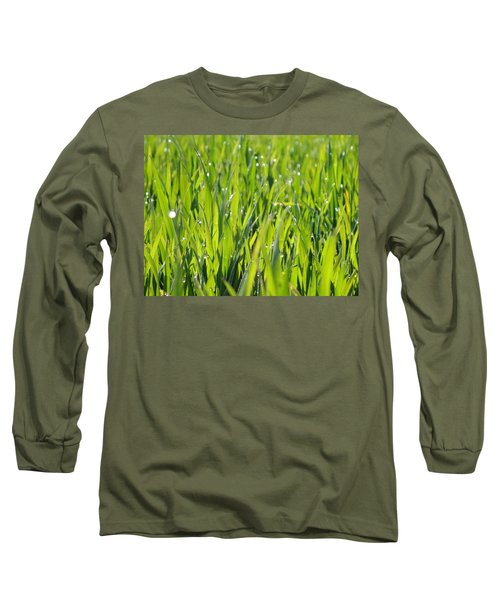 April Dewdrop Fairylights Long Sleeve T-Shirt