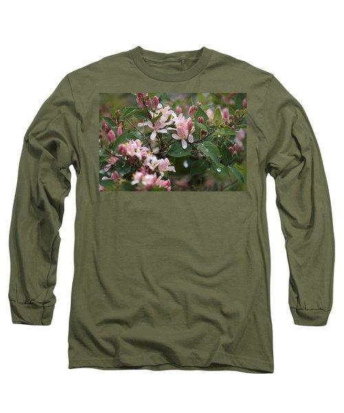 April Showers 8 Long Sleeve T-Shirt by Antonio Romero