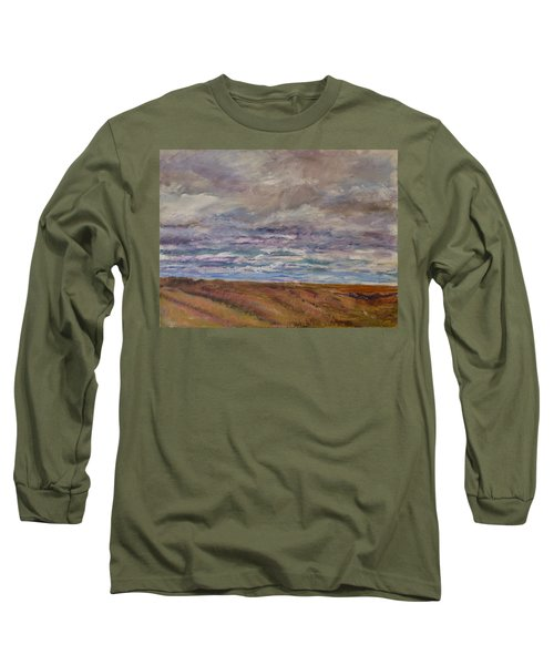 April Wind Long Sleeve T-Shirt by Helen Campbell