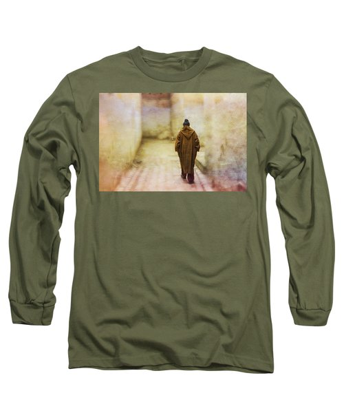 Arab Man Walking - Morocco 2 Long Sleeve T-Shirt