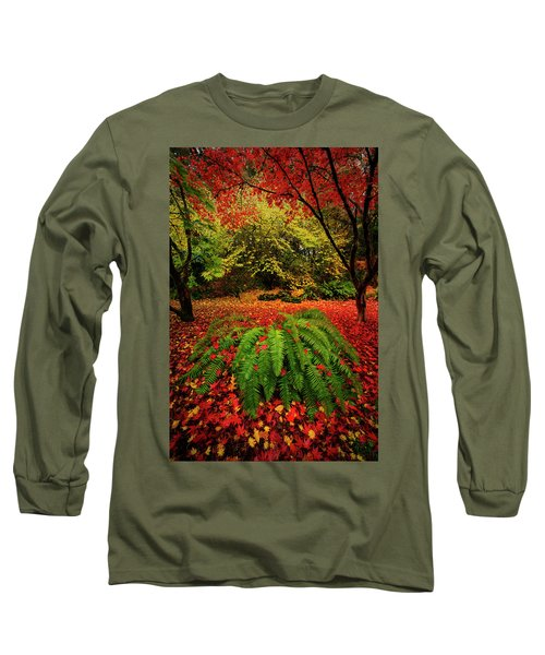 Arboretum Primary Colors Long Sleeve T-Shirt