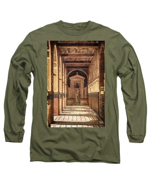 Paris, France - Arcade - L'ecole Des Beaux-arts  Long Sleeve T-Shirt