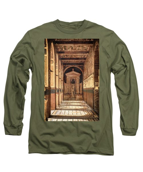 Paris, France - Arcade - L'ecole Des Beaux-arts  Long Sleeve T-Shirt