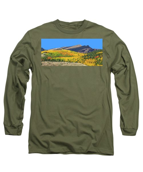 Arcas Is The King Of Arcadia, The Home Of God Pan. Long Sleeve T-Shirt by Bijan Pirnia