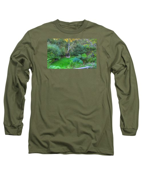 Arch Scene In The Green Long Sleeve T-Shirt