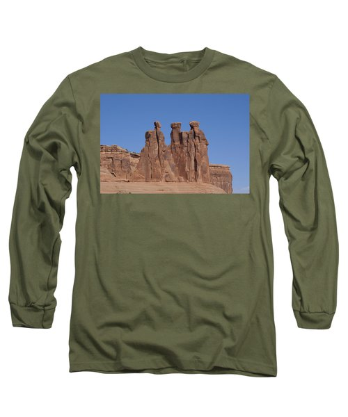 Arches National Park Long Sleeve T-Shirt by Cynthia Powell