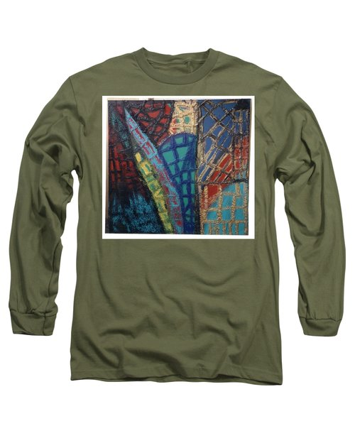 Architectuaral Bent,   Long Sleeve T-Shirt by Darrell Black