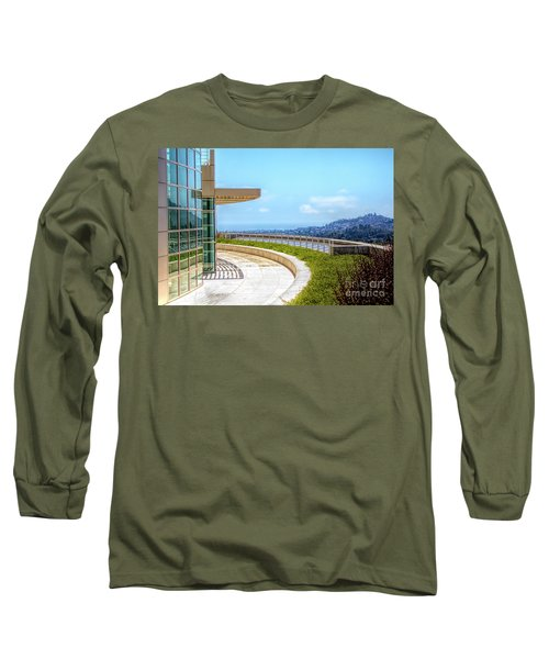 Architecture J. Paul Getty Museum California  Long Sleeve T-Shirt