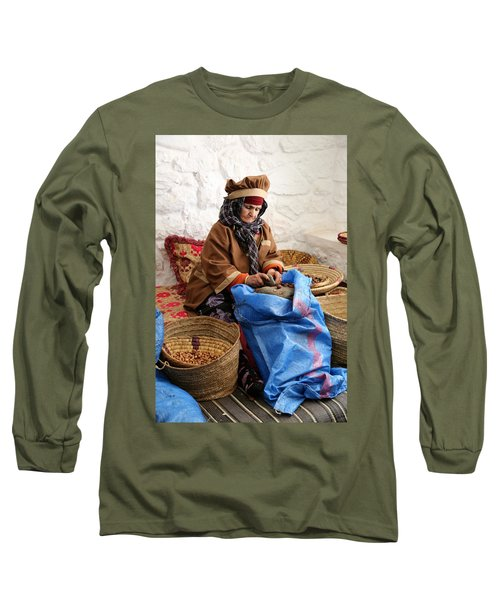 Long Sleeve T-Shirt featuring the photograph Argan Oil 3 by Andrew Fare