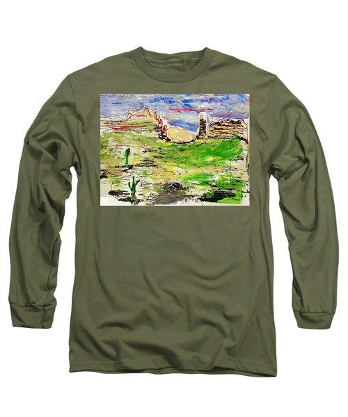 Arizona Skies Long Sleeve T-Shirt by J R Seymour
