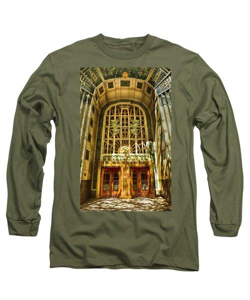 Art Deco Marine Building Long Sleeve T-Shirt