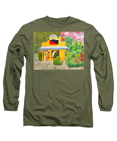 Art Gallery Long Sleeve T-Shirt