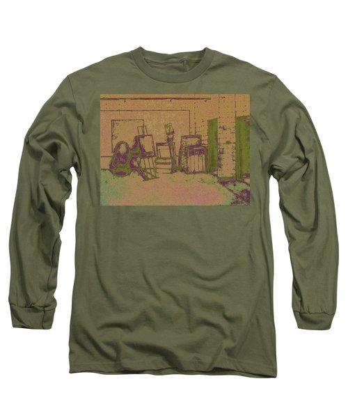Art Intro Mixed Media Long Sleeve T-Shirt