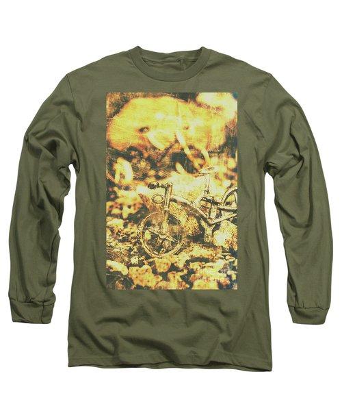 Art Of Mountain Biking Long Sleeve T-Shirt