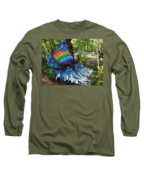 Art With Recycling - Turtle Long Sleeve T-Shirt