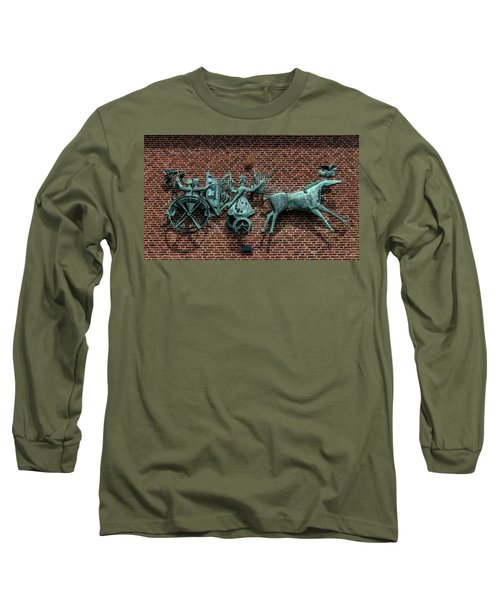 Art Work In Ystad, Sweden Long Sleeve T-Shirt