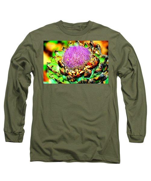 Artichoke Going To Seed  Long Sleeve T-Shirt