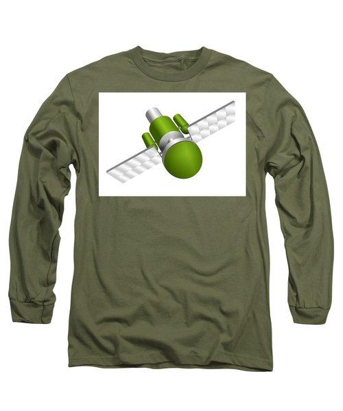 Artificial Satellite Long Sleeve T-Shirt