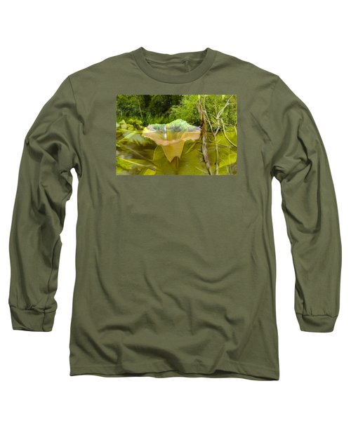 Long Sleeve T-Shirt featuring the photograph Artistic Double by Leif Sohlman