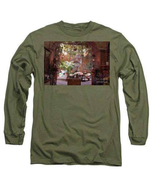 Artists' Studio In Sorrento Italy  Long Sleeve T-Shirt