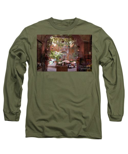Artists' Studio In Sorrento Italy  Long Sleeve T-Shirt